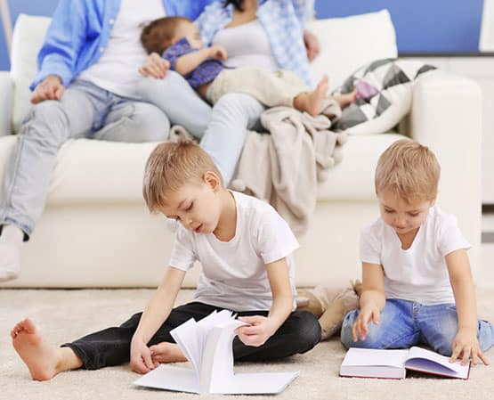 carpet cleaning safe for young families