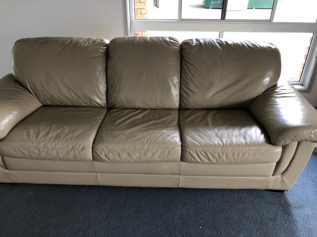 leather couch upholstery cleaning