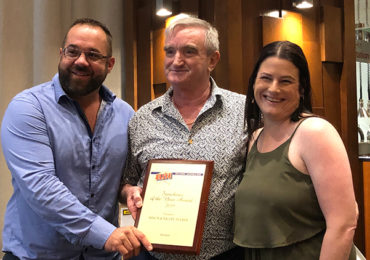 Shaun & Nicole Mackay Franchise of the Year award 2019