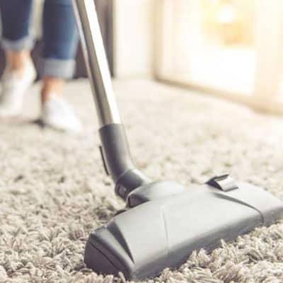 Deep pre vacuum carpet cleaning