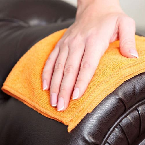 Upholstery dry cleaning in Balmoral