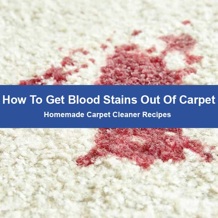 Blood Stains out of Carpet
